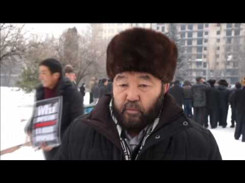 Kyrgyzstan and Chechnya Hold Anti-Charlie Hebdo Rallies: Muslims protest over Mohammed cartoons