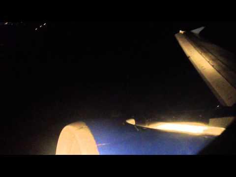 Aterrizando en Chetumal de Noche
