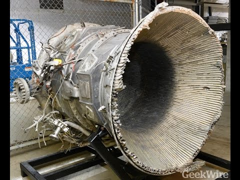 Sneak Preview: Recovered Apollo Saturn V F-1 rocket engines at the Museum of Flight