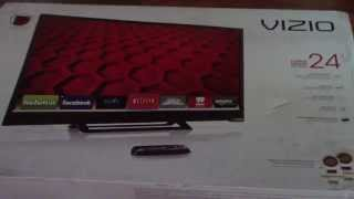 01. UNBOXING VIZIO E241i B1 24 Inch 1080p 60Hz Smart LED HDTV
