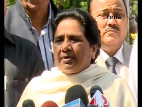 Won't Take Part In March Against Land Bill – Mayawati