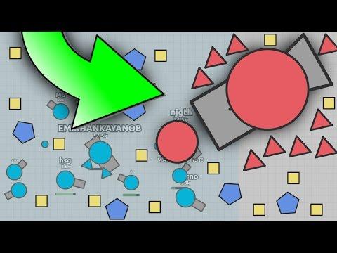 NEW TANK! HYBRID MAX LEVEL UPDATE! - Diep.io Game (New Slither.io / agar.io Game Diep.io)