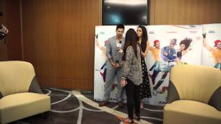 ABCD 2 Press Conference - Varun Dhawan raps
