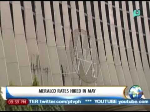 NewsLife: MERALCO rates hiked in May || April 30, 2014