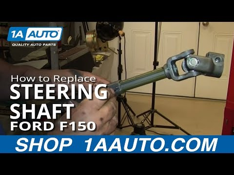 How To Fix Loose Clunking Steering shaft 2004-11 Ford F-150