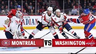 Montreal Canadiens vs Washington Capitals | Season Game 41 | Highlights (9/1/17)