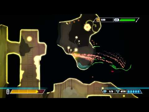 Pixeljunk Shooter Ultimate, Complete Walkthrough Of  Episode 6 Can't Take My Eyes Off Of You video