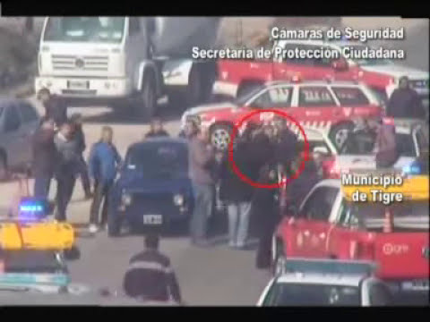 Cámaras de seguridad permitieron apresar delincuentes que dispararon a policías y robaron móvil COT