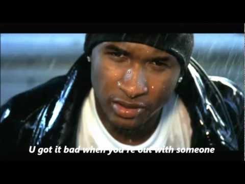 Usher - You Got It Bad Lyrics