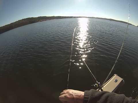 Lake Norman, Striper Fishing, January 16, 2015