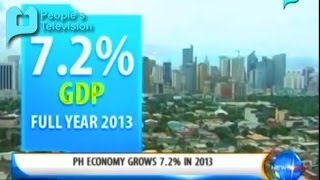 NewsLife: PH economy grows 7.2% in 2013 || Jan. 30,