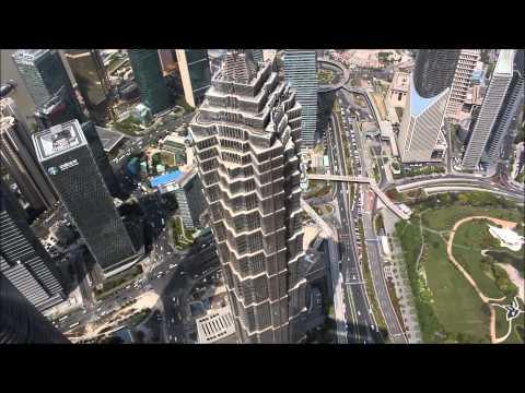 World Financial Center und Fake Markt // China Aus