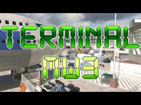 Terminal (New Map Remake) - Modern Warfare 3 Gameplay - Live Commentary