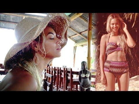 Beyonce Bikini Clad Jamaican Vacation Photos!
