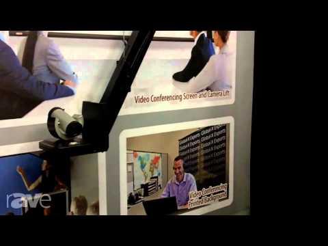 InfoComm 2013: Draper Exhibits Video Conferencing Camera Lift Ceiling Version