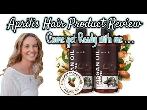 Come Get Ready with Me!!!   Aprilis Shampoo and Conditioner Review