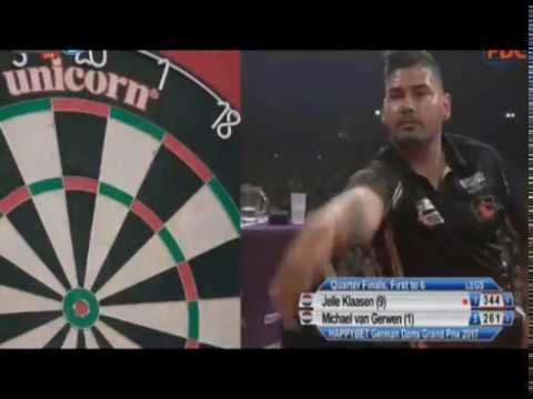 Unintentionally Inappropriate Darts Commentary LOL - 2017 PDC German Grand Prix