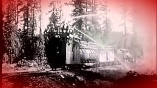 Forest fire fighting train