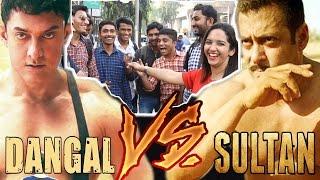 Fans REACT On Salman Khan's SULTAN Vs Aamir Khan's DANGAL - Public Review