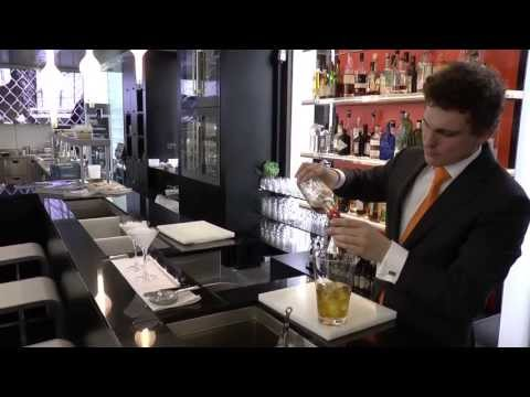 Verreckt prepares a cocktail at WY in Brussels