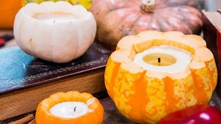 How to Make Cinnamon Pumpkin Candles