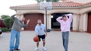 INSANE H.O.R.S.E GAME vs FaZe Rug & Papa Rug!!