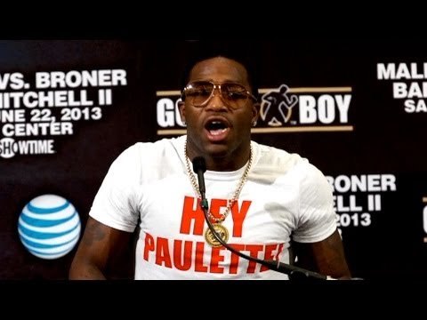 Paulie Malignaggi and Adrien Broner - Emotionally Charged Press Conference