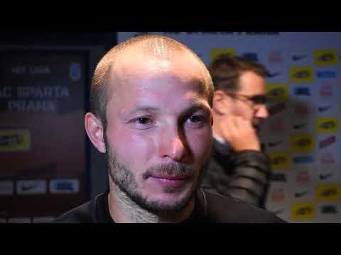 Rozhovor s Tomášem Vondráškem po utkání se Spartou (24.9.2017)