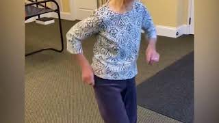 Watch this 91-year-old woman groove to Elvis Presley's 'Jailhouse Rock'  | GMA Digital
