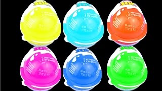 Surprise Egg Kinder Joy Color Edition Blue Red Pink Yellow Green