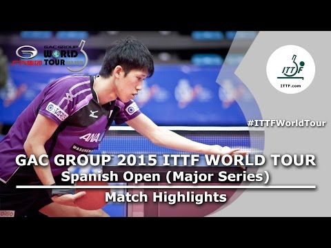 Spanish Open 2015 Highlights: YOSHIMURA Maharu vs WONG Chun Ting (FINAL)