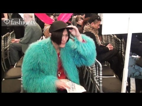 Jean Paul Gaultier Front Row ft Nicky Wu & Shy'm: Paris Men's Fashion Week Fall 2012 | FashionTV FTV