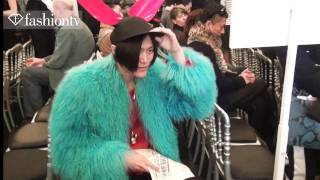 Jean Paul Gaultier Front Row ft Nicky Wu & Shy'm: Paris Men's Fashion Week Fall 2012 | FashionTV FTV