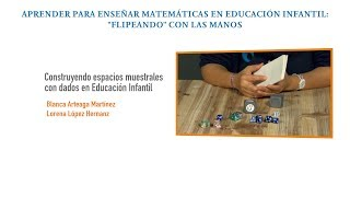 Construyendo espacios muestrales con dados en Educación Infantil