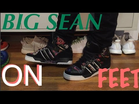 Adidas Metro Attitude Hi Big Sean On Feet