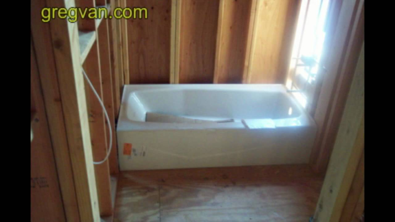 Bathtub Framing Tip Advanced Carpentry Techniques And