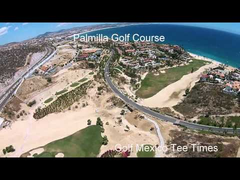 Palmilla Golf Course Aerial Shots from Golf Mexico Tee Times