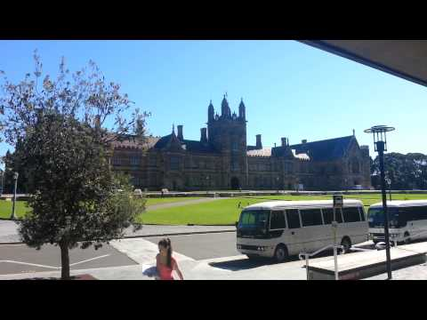 I hope that the carillonneur did not illegally download the sheet music. I was sitting outside the library when I recognised the tune being played by the bell tower at Sydney University. ...