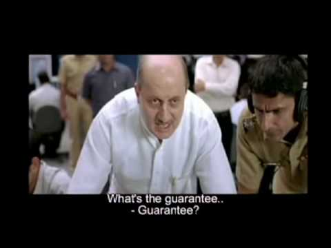 A Wednesday I Official Trailer 2008 I Naseeruddin Shah I Anupam Kher I Jimmy Shergil