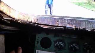 T-34 from drivers point of view