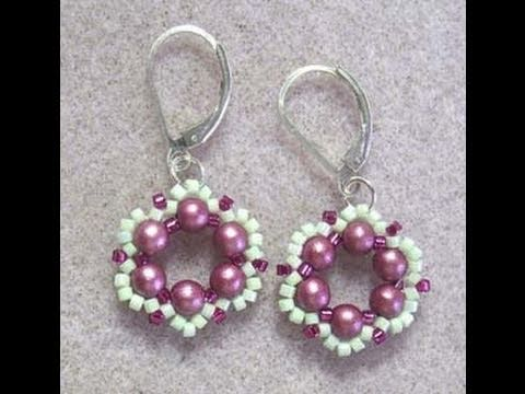 Spring Flower Earrings Howto