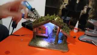MINI TUTORIAL COME INSTALLARE LED SUL PRESEPE