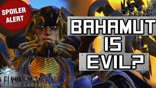 Bahamut is the VILLAIN of the story? - Final Fantasy XV Theory