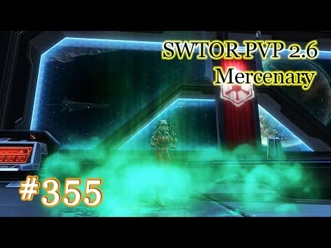 SWTOR 2.6 PVP #355 / L33 Bodyguard Mercenary / Civil War