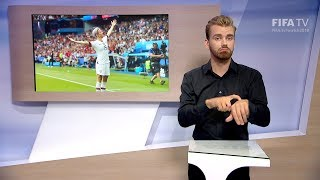 Matchday 20 - France 2019 - International Sign Language for the deaf and hard of hearing