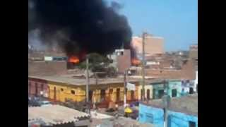 Incendio En El Callao 18-04-2013
