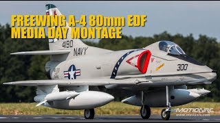 Freewing 80mm A-4 Skyhawk Media Day Montage