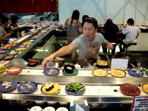Dining at Shabushi in Central World Bangkok