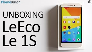 LeEco (LeTV) Le 1S India Unboxing and Top 5 Features