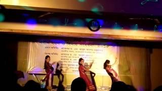 Dhar dhari na-Morar kokil-Nisha lagilo re performed by PA 43 girls Sharmin,Fahmida,Baishakhi JUPA